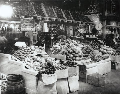 Center Market Interior in Washington, D.C.