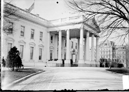 The White House in 1906.