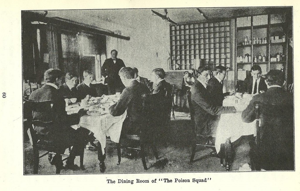 "The Dining Room of ""The Poison Squad"""